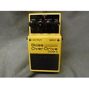 Boss ODB3 Bass Overdrive Bass Effect Pedal
