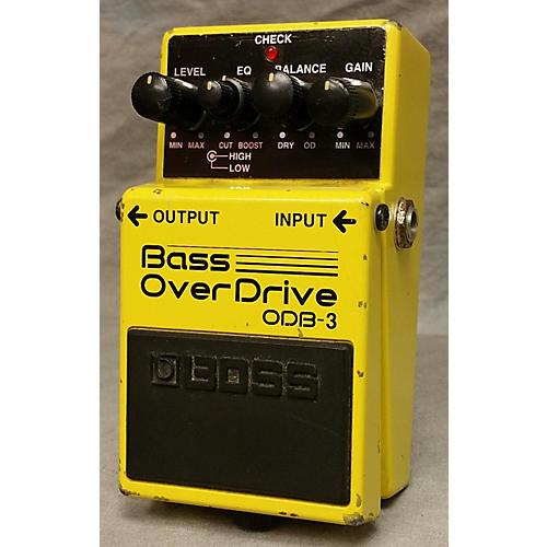 Boss ODB3 Overdrive Bass Effect Pedal-thumbnail