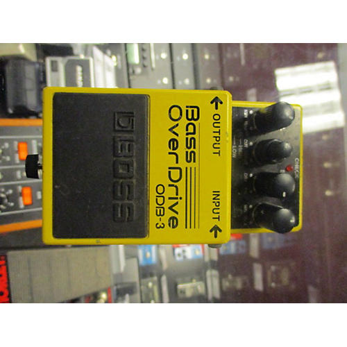 Boss ODB3 Overdrive Bass Effect Pedal