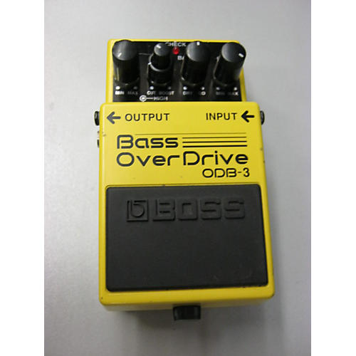 Boss ODB3 Overdrive TV Yellow Bass Effect Pedal