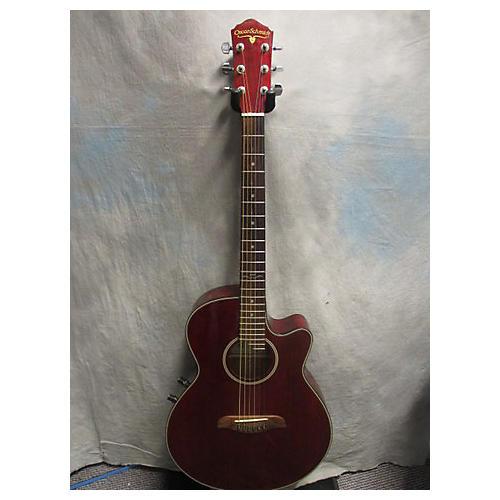Oscar Schmidt OE-60-WR Acoustic Electric Guitar
