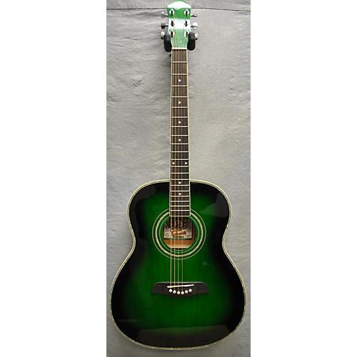 Oscar Schmidt OF2 TGR Acoustic Guitar