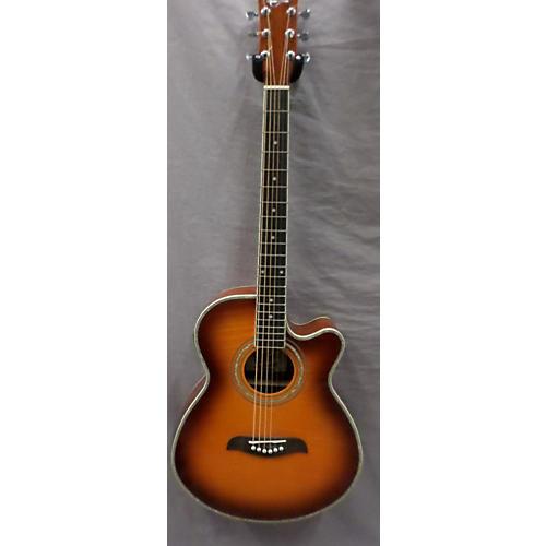 Oscar Schmidt OG10CEF/YS Acoustic Electric Guitar