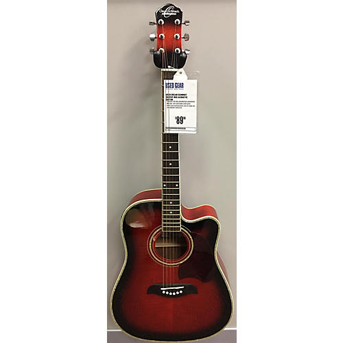 Oscar Schmidt OG2CEF Acoustic Guitar-thumbnail