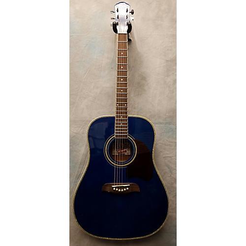 Oscar Schmidt OG2TBL Acoustic Guitar-thumbnail