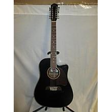 Oscar Schmidt OG312CEB 12 String Acoustic Electric Guitar