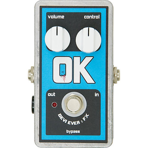Devi Ever OK Fuzz Guitar Effects Pedal-thumbnail