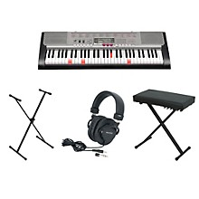 Casio OLD LK-230 61-Key Lighted-Note Keyboard with Bench, Stand, & Heaphones