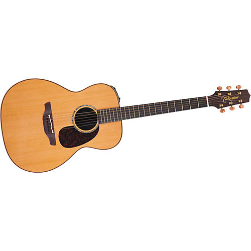 Takamine OM TAN77 Koa CTP1 Acoustic-Electric Guitar with Case Gloss Natural