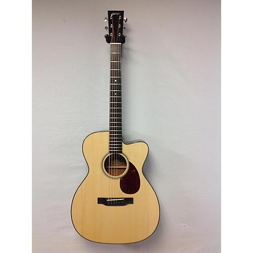 used collings om1 g cut acoustic guitar mahogany german spruce guitar center. Black Bedroom Furniture Sets. Home Design Ideas