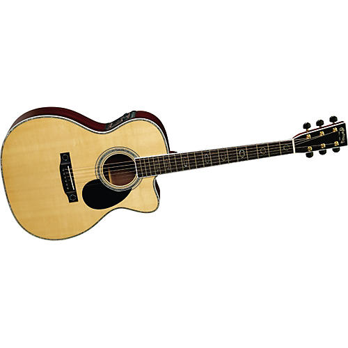 Martin OMC-Aura Cutaway Acoustic-Electric Guitar