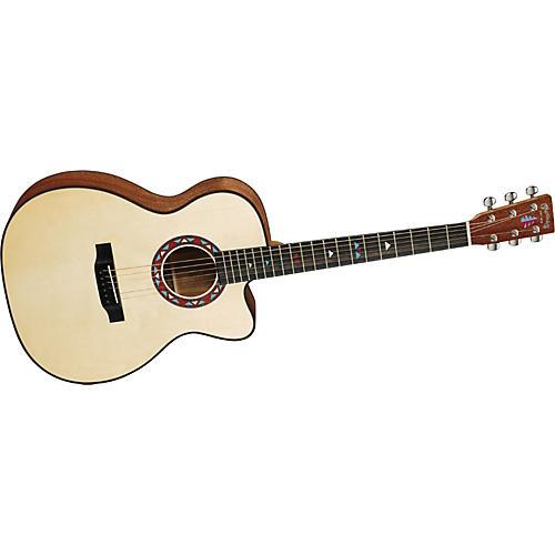 Martin OMCE Walnut 000 Cutaway Acoustic Guitar-thumbnail