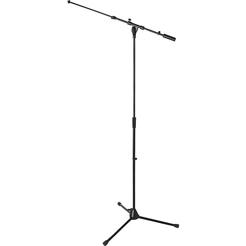 On-Stage Stands ON STAGE MS9701TB+ HVY DUTY EURO TELE BOOM MIC STAND Black