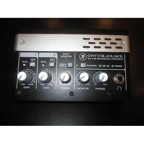 Mackie ONYX BLACKJACK 2X2 Line Mixer-thumbnail