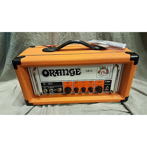 Orange Amplifiers OR15 Tube Guitar Amp Head-thumbnail