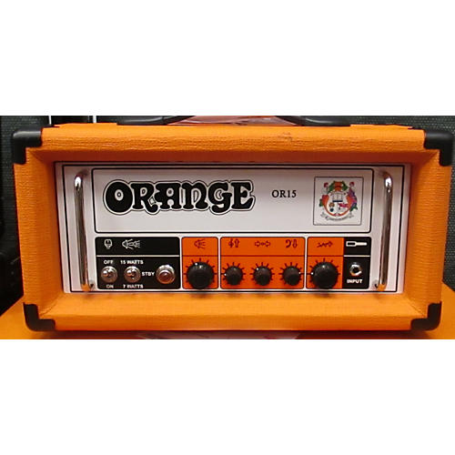 Orange Amplifiers OR15H 15W Tube Guitar Amp Head-thumbnail