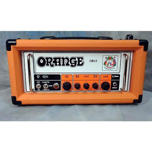Orange Amplifiers OR15H 15W Tube Guitar Amp Head-thumbnail