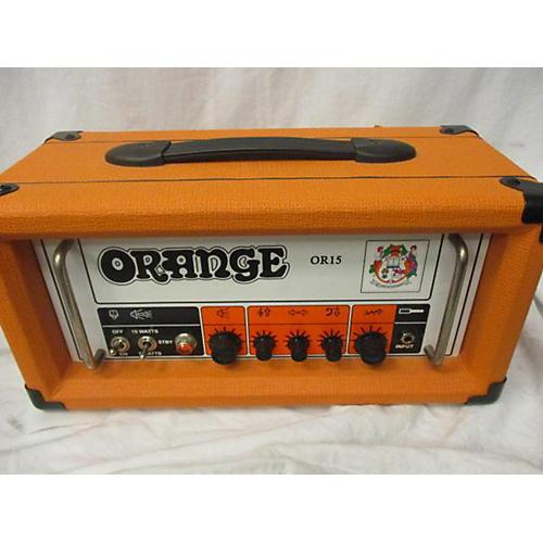 used orange amplifiers or15h 15w tube guitar amp head guitar center. Black Bedroom Furniture Sets. Home Design Ideas