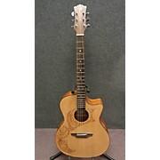 Luna Guitars ORACLE TATTOO Acoustic Electric Guitar