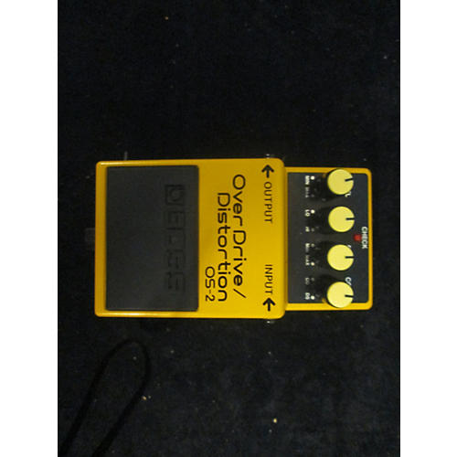 Boss OS2 Overdrive Distortion Effect Pedal-thumbnail