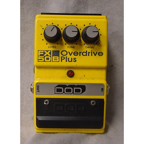 DOD OVERDRIVE PLUS Effect Pedal