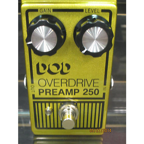 DOD OVERDRIVE PREAMP 250 Effect Pedal-thumbnail