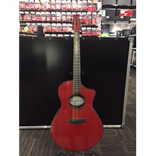 Composite Acoustics OX HG RED ELE Acoustic Electric Guitar