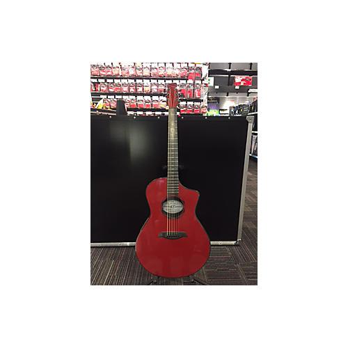 Composite Acoustics OX HG RED ELE Acoustic Electric Guitar-thumbnail