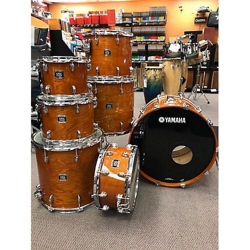 used yamaha oak custom drum kit guitar center. Black Bedroom Furniture Sets. Home Design Ideas
