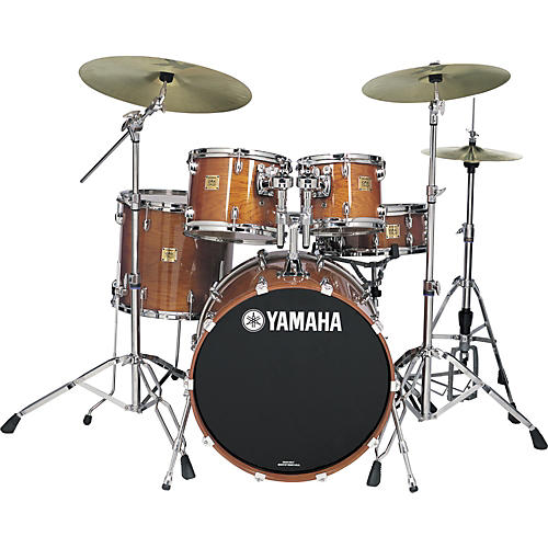 Yamaha Oak Custom Fusion 4-Piece Shell Pack with 16
