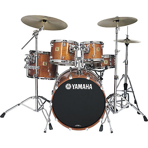 Yamaha Oak Custom Fusion Gloss 5-Piece Drum Kit