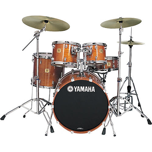 Yamaha Oak Custom Standard Gloss 5 Piece Drum Kit