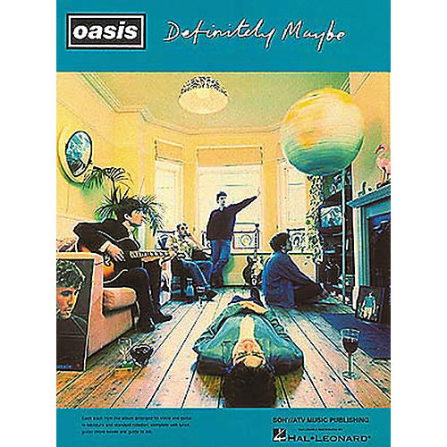Hal Leonard Oasis Definitely Maybe Guitar Tab Songbook-thumbnail