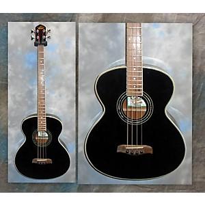 Pre-owned Oscar Schmidt Ob200b Acoustic Bass Guitar by Oscar Schmidt