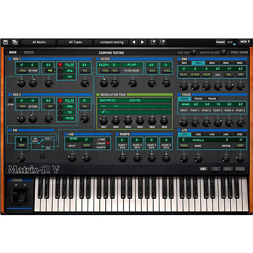 Arturia Oberheim Matrix 12V Software Synthesizer Software Download-thumbnail