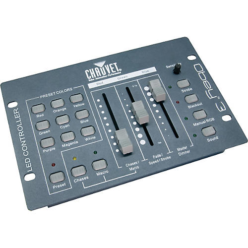Chauvet DJ Obey 3 Compact DMX Controller for LED Wash Lights-thumbnail