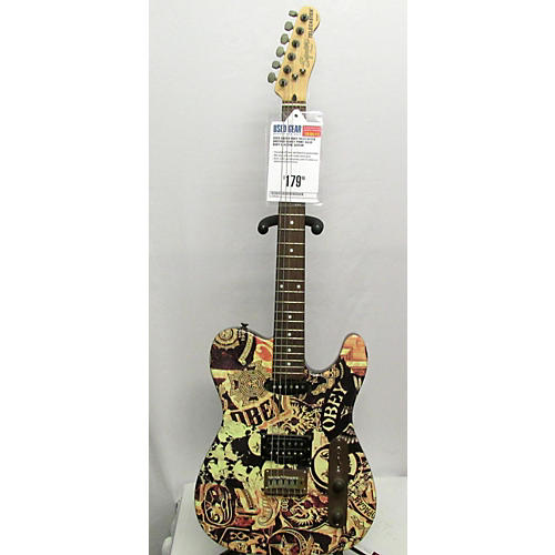 Squier Obey Telecaster Solid Body Electric Guitar