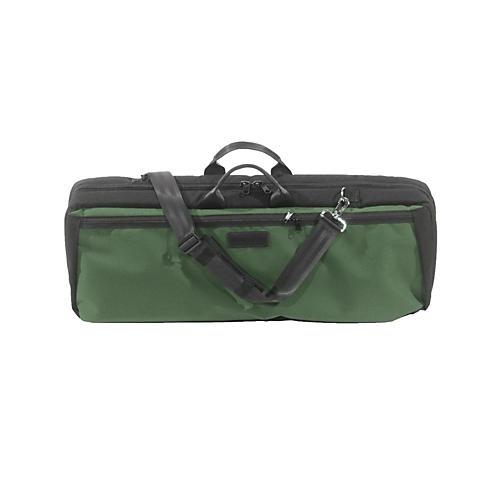 Mooradian Oblong Viola Case Slip-On Cover Green with Shoulder Strap