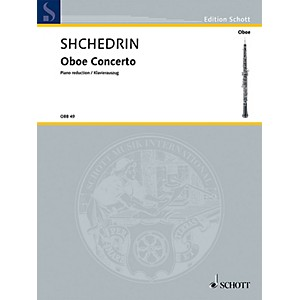 Schott Oboe Conc Oboe and Piano Reduction Woodwind Series
