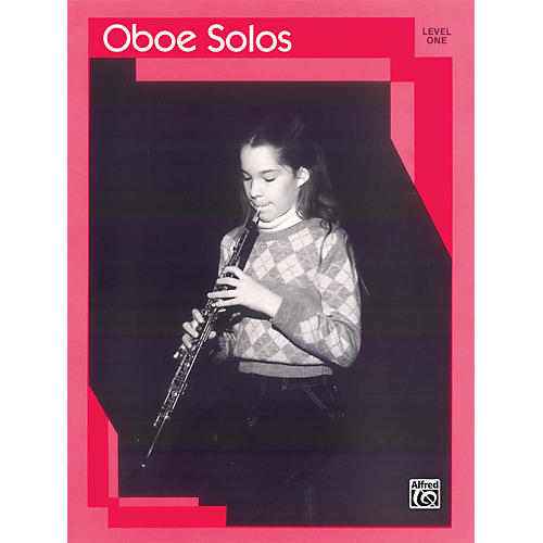 Alfred Oboe Solos Level I Solo Book-thumbnail