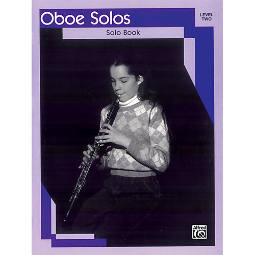 Alfred Oboe Solos Level II Solo Book-thumbnail