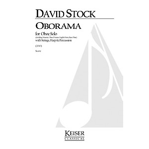 Lauren Keiser Music Publishing Oborama Oboe Family Solo, Strings, Harp, an...