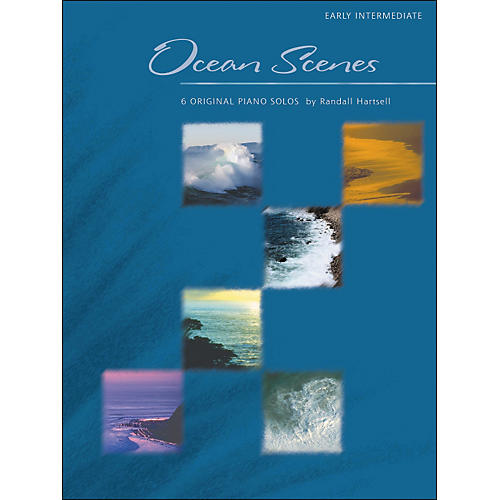 Willis Music Ocean Scenes - 6 Original Piano Solos by Randall Hartsell-thumbnail