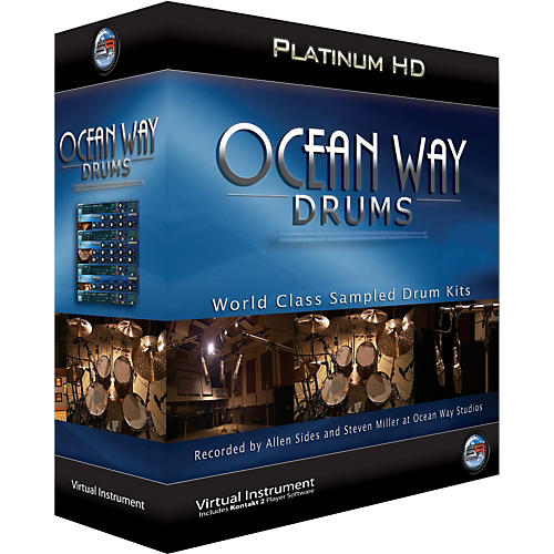 Ilio Ocean Way Drums Platinum - Mac-thumbnail