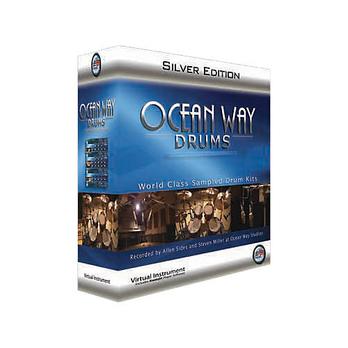 Sonic Reality Ocean Way Drums Silver 30GB