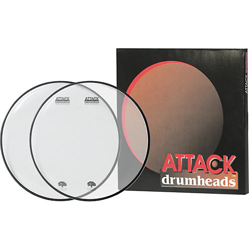 Attack Ocheltree Drumhead Pack Clear/Clear 10