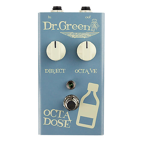Dr. Green Octa Dose Octave Bass Effects Pedal-thumbnail