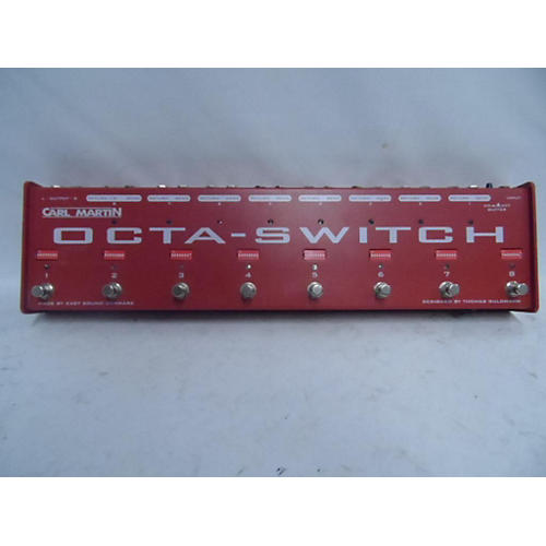 Carl Martin Octa-Switch MKII Pedal