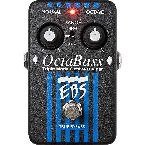 EBS OctaBass Triple Mode Octave Divider Pedal-thumbnail