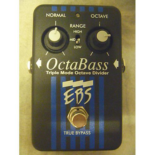 EBS Octabass Triple Mode Bass Octave Divider Bass Effect Pedal-thumbnail